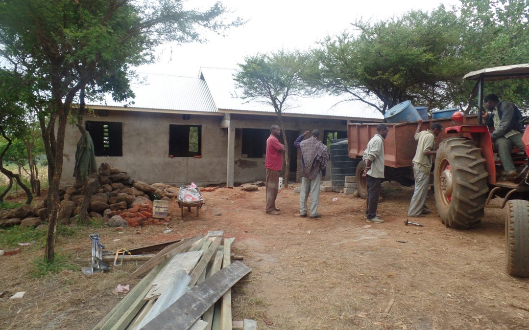 Marar Teacher House Almost Finished