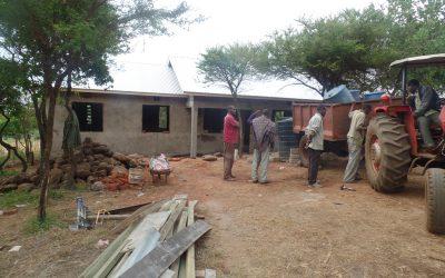Marar Teacher House Almost Finished